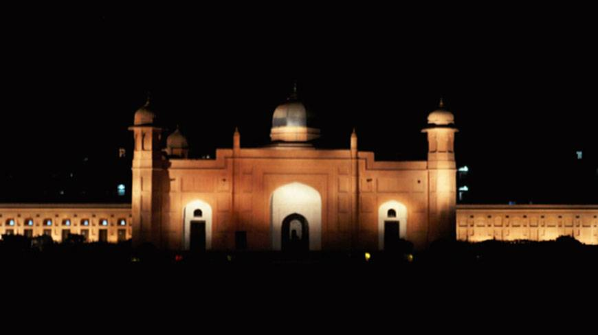 Lalbagh fort at haunted night