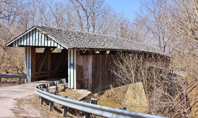 Haunted Colville Covered Bridge, Bourbon County, Kentucky