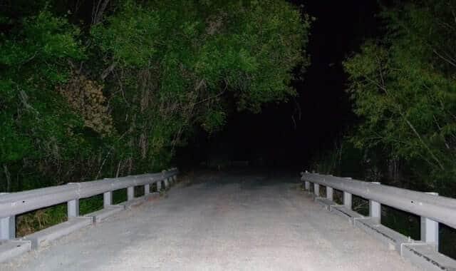 Haunted Donkey Lady Bridge, Texas