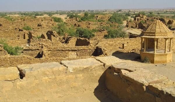 Kuldhara indian haunted village