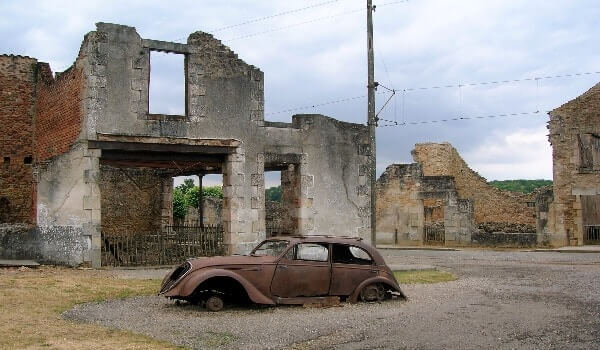 Oradour-Sur-Glane, Haunted Village, France