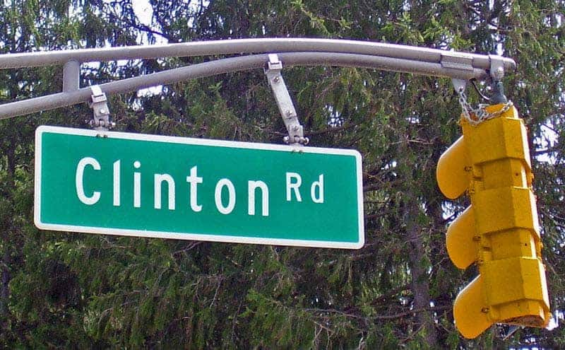 Clinton Road Sign, New Jersey