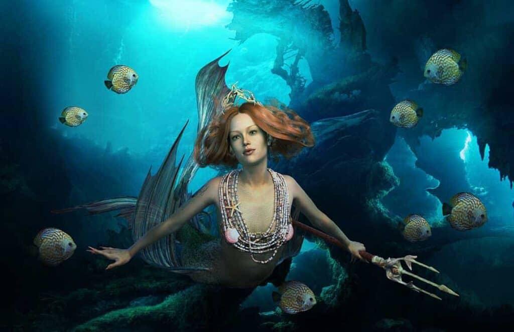 under ocean mermaid 1