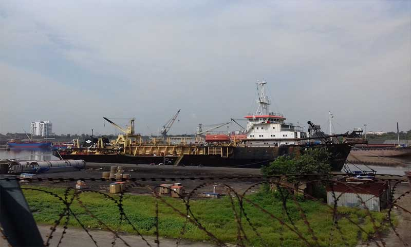 Kolkata Dockyard Haunted